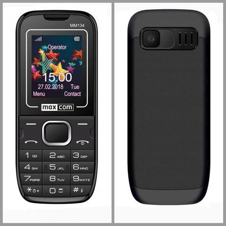 Telefon komórkowy Maxcom MM134 + akcesoria