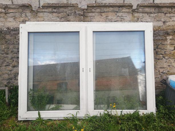 Okno dwuskrzydłowe 195x140