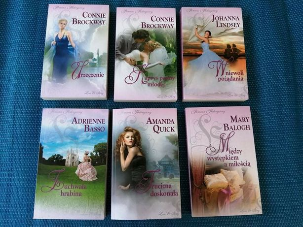 Seria książek romans historyczny