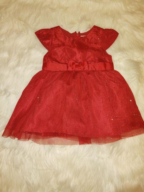 Czerwona sukienka 62