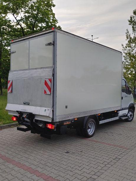Transport mebli, sprzętu RTV/AGD, materiałów budowlanych; Winda