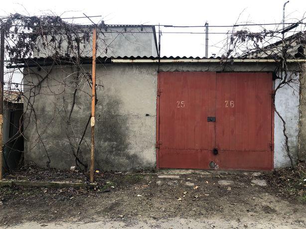 Двойной гараж на одни ворота