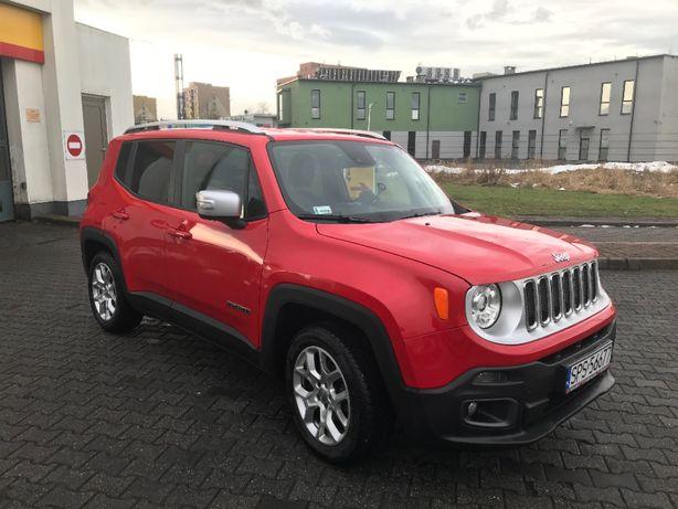 Jeep Renegade wersja Limited! Salon Polska, bardzo niski przebieg