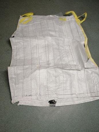 big bag z wkładem foliowym na kiszonkę ! Różne wymiary / 86x86x125cm