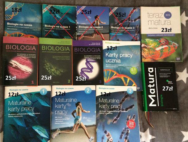 Książki biologia liceum/technikum