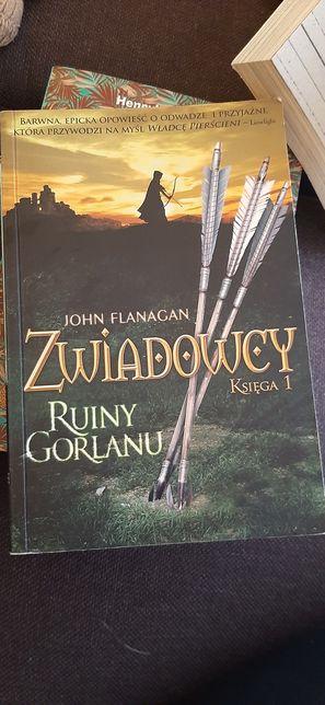 Książka Zwiadowcy księga 1 Ruiny Gorlanu