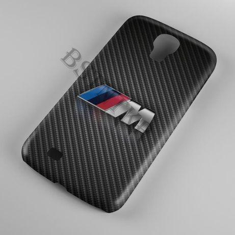 Etui na telefon BMW M-Power FUTERAŁ KARBON Samsung GALAXY J3 2016