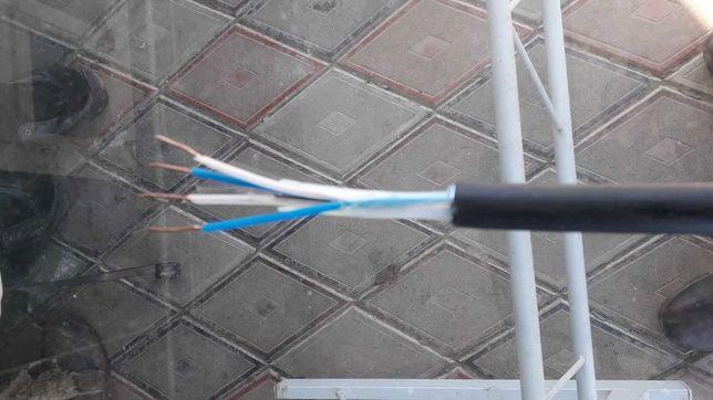 Продам мідний електро кабель 4-ох жильний 1,2 січеніє.