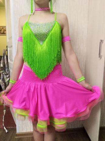 подростковое бальное платье