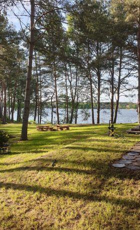 Wynajmę działke nad jeziorem Wdzydzkim Zabrody pod kemping lub kampera
