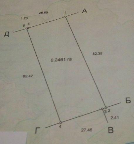 Продам земельну ділянку Романків - зображення 1
