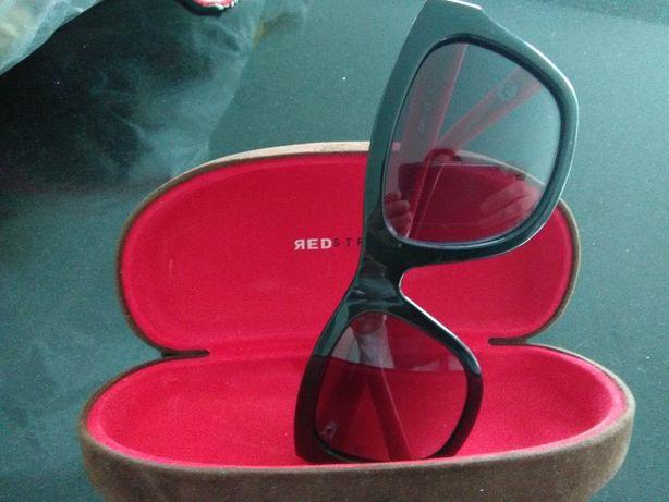 Óculos de sol Red Stripe Novos!!!