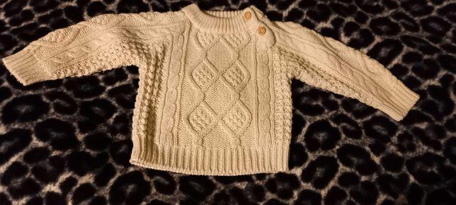 Sweter sweterek chłopięcy dla chłopca 98,3 lata