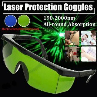 Óculos de proteção de laser verde  IPL.
