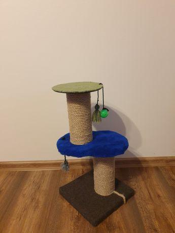 Drapak dla kota. Dwa poziomy.