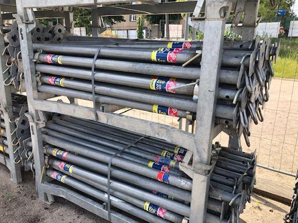 Podpora stropowa Doka Eko 300, stemple budowlane, szalunki stropowe