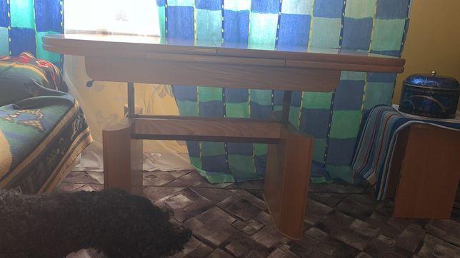 Стол для гостинной. Натуральное дерево. Раскладной.  Из Германии.