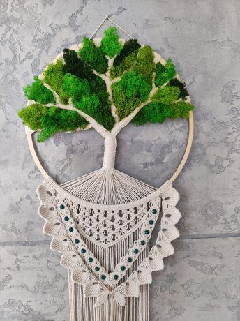 Makrama-drzewko szczęścia