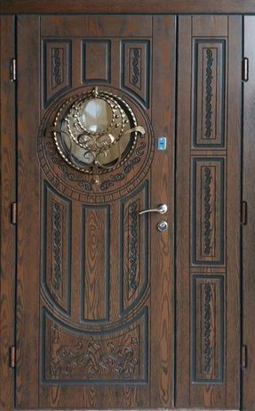 Двері вхідні броньовані ПОЛІМЕРНА ПЛИТА 3 роки Гарантії