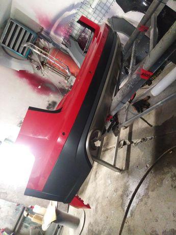 Audi A6 C7 Allroad zderzak przod pdc