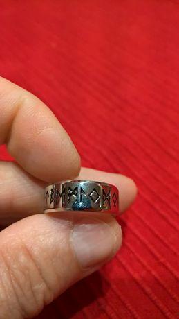 AMULET pierścień Vikingów TYTAN
