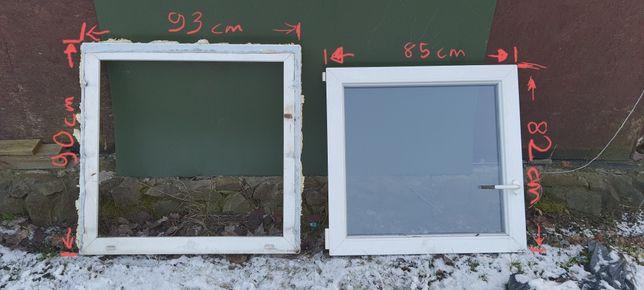 Okno plastikowe 90x90