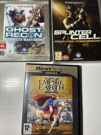 zestaw gier na PC - cena obejmuje wszystkie 3 gry!