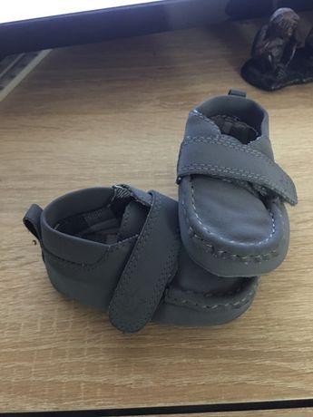 Мужские туфельки 3-6 месяцев