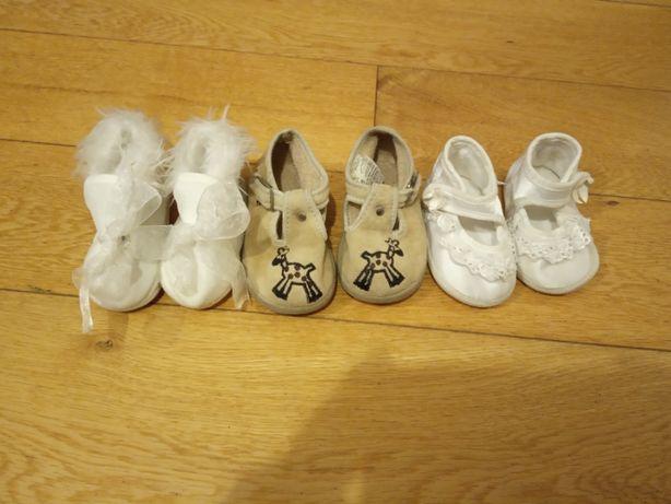 Buty niemowlęce dziewczęce