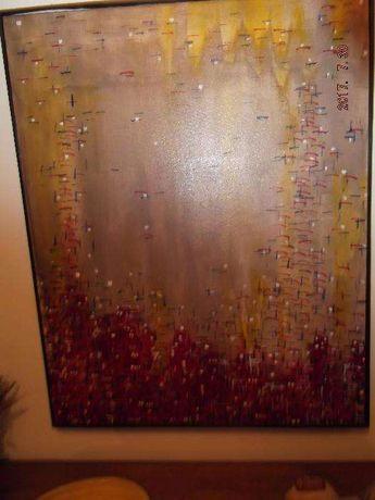 Quadro a óleo pintado, Jorge Novais, 1993 (Cruzes)