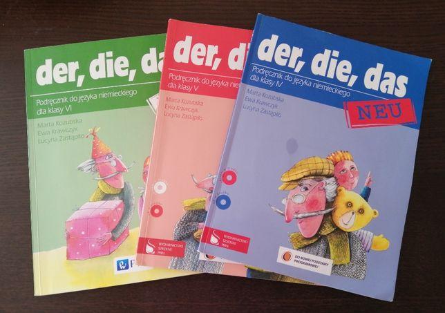 Podręcznik do języka niemieckiego Der, die, das neu 4, 5, 6