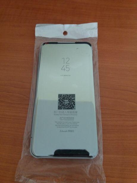 Capa Samsung A50 Prateada Espelhada