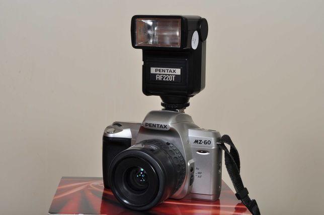 Pentax analógica + Zoom 35x80 + Flash TTL Pentax