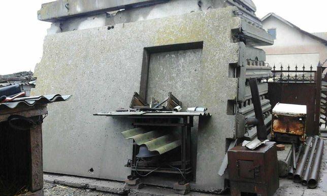 Плиты бетонные толстостенные