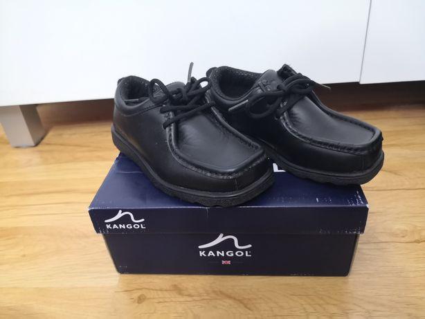 Nowe Buty chłopięce Kangool Waltham Lace skóra naturalna rozmiar 28