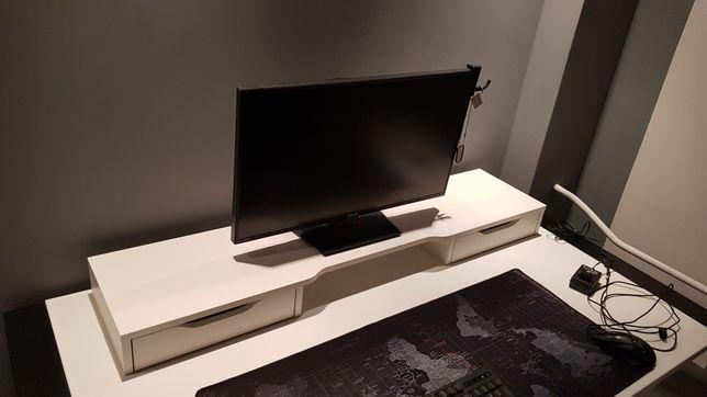 Pod monitor nakładka podkładka szuflady