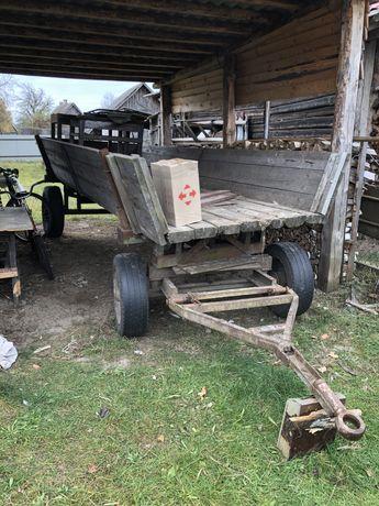 Причіп ( Віз) тракторний ( осі і колеса 2ПтС4)