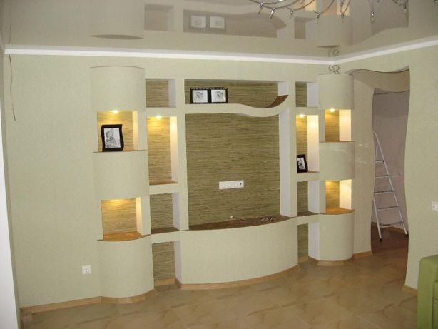 Ремонт квартир, домов, коттеджей, офисов Под ключ