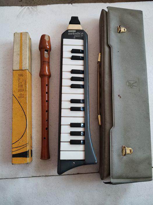 HOHNER educator c-sopran flet /  HOHNER melodia piano 26 Chorzów - image 1