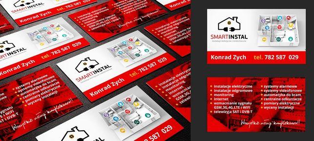 Elektryk, Elektronik-profesjonalne instalacje elektryczne i teletech.