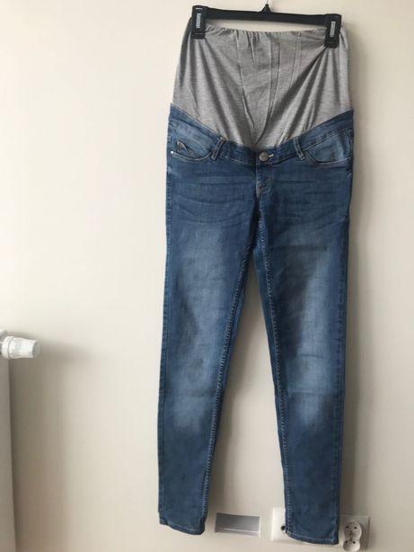 Spodnie jeans ciazowe S