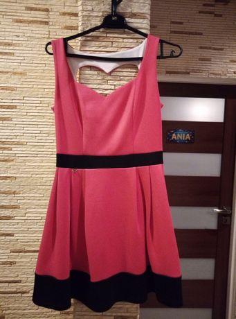 Sukienka różowa r. 36