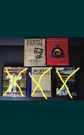 Zestaw książek o BJJ