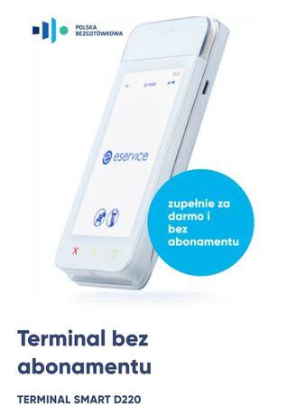 Terminal płatniczy bez abonamentu SmartPos D220