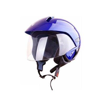 Kask moto bezszczękowy WL-703 połysk niebieski S