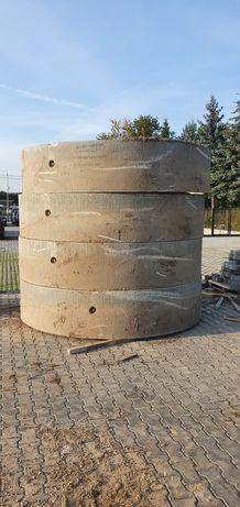 Kręgi betonowe średnica 2 m