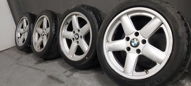 Alufelgi BMW AC SCHNITZER 5x120 8j et10 17 cali