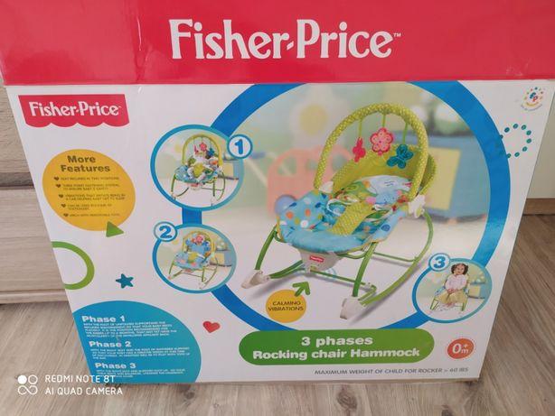 Leżaczek Bujaczek Fischer Price
