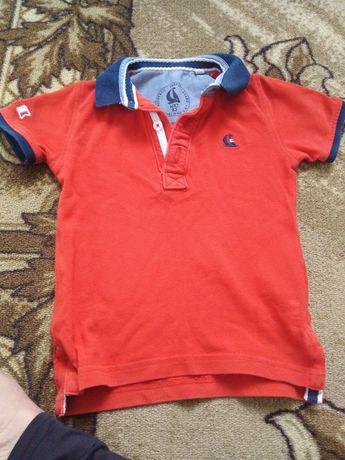 Стильная футболка на мальчика