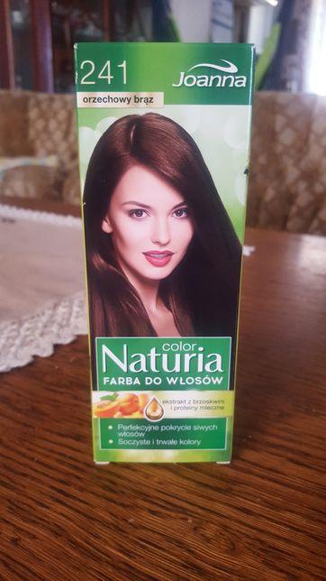 Farba do włosów orzechowy brąz Joanna